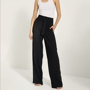 Wilfred Wide Leg Belted Trousers Fatigue Green 2